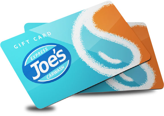 Joe's Express Car Wash Gift Cards